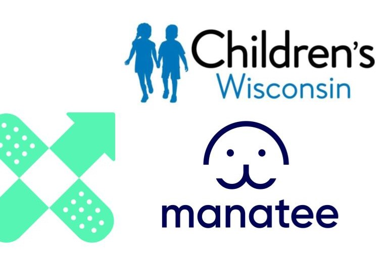 Childrens Wisconsin and Manatee Logo