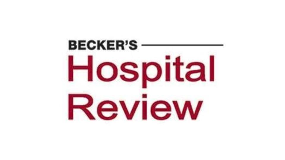 Beckers Hospital Review Logo