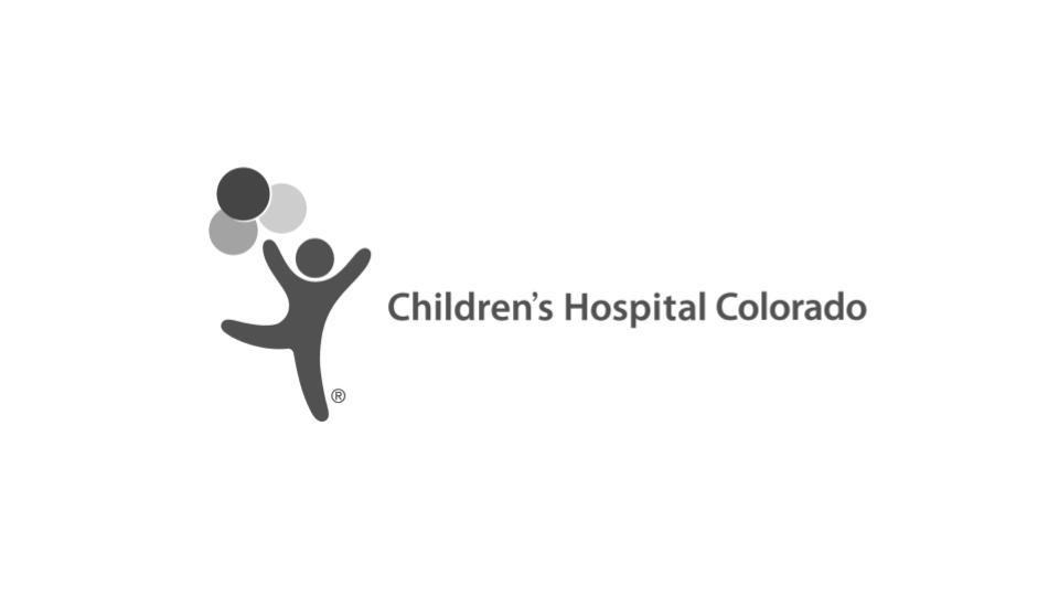 Children's Hospital Colorado Logo Monochrome
