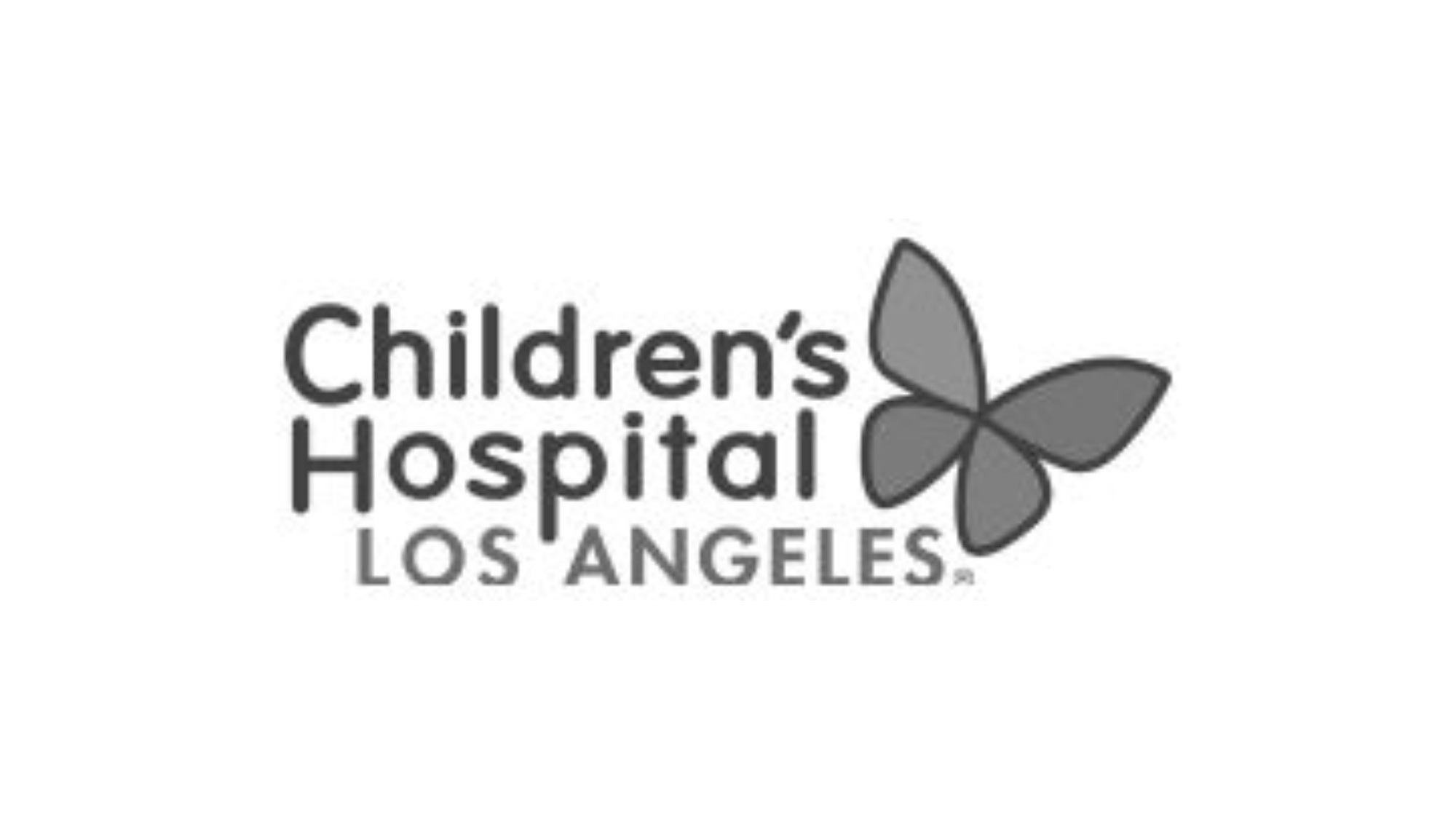 Children's Hospital - Los Angeles - Logo with Butterfly