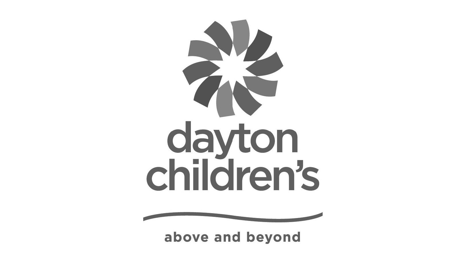 Dayton Children's - above and beyond - logo