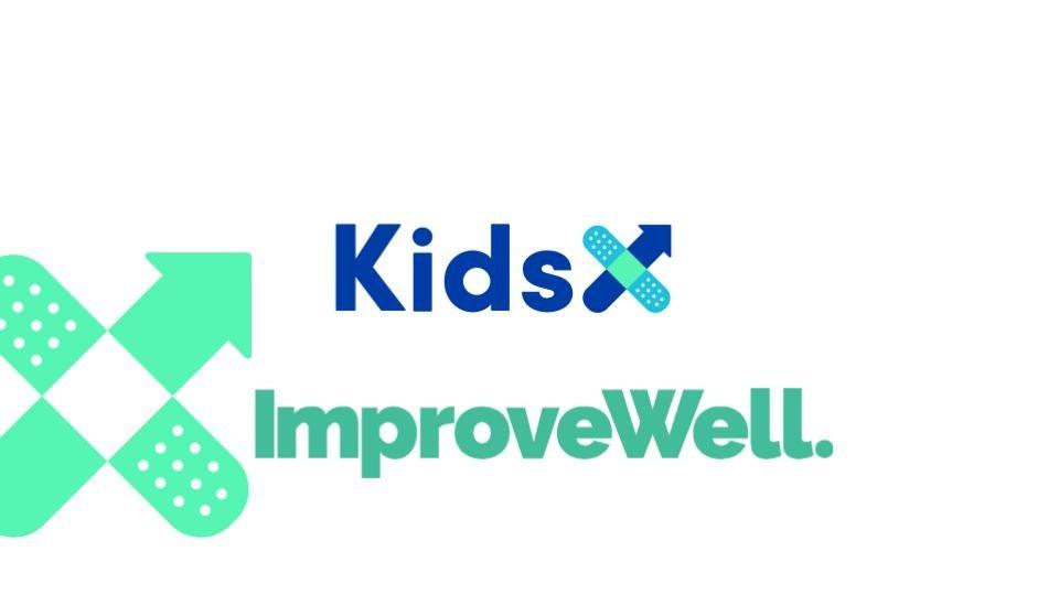 KidsX ImproveWell logo