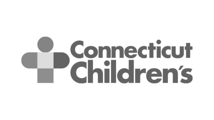Connecticut Children's Greyscale logo